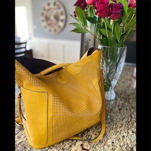 Handbags - Large Vegan Leather Tote Bag